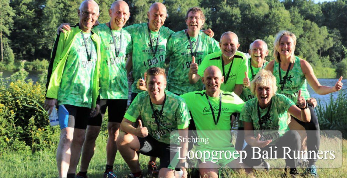 Loopgroep Bali Runners start