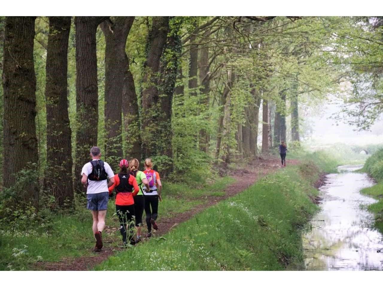 Groene Woud Lente Trail 105