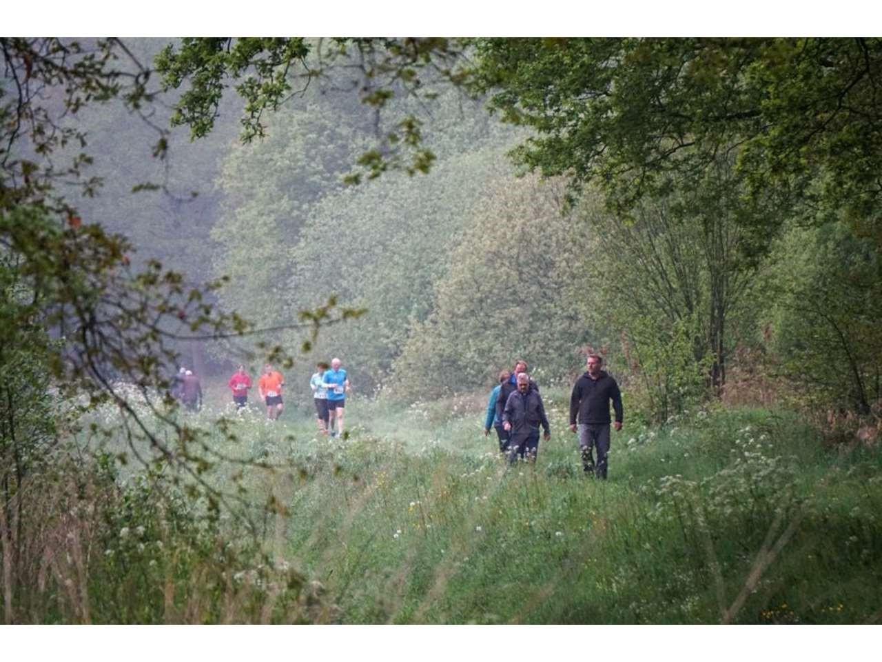 Groene Woud Lente Trail 107